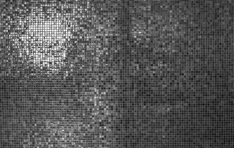 mosaic, wall, texture