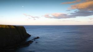 meri, taivas, vesi, rannikko, luonto, rocky, cliff