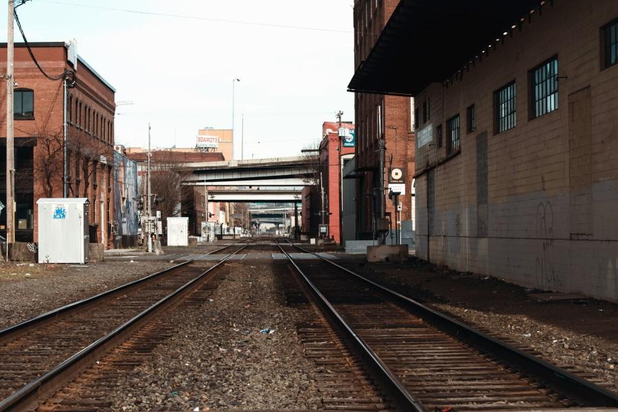 Viaje, vehículo, arquitectura, ciudad, plataforma, ferrocarril, camino, rocas, estación