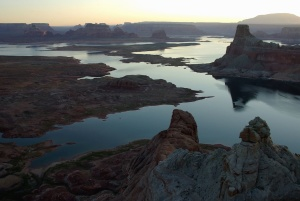 rzeki, skały, woda, krajobraz