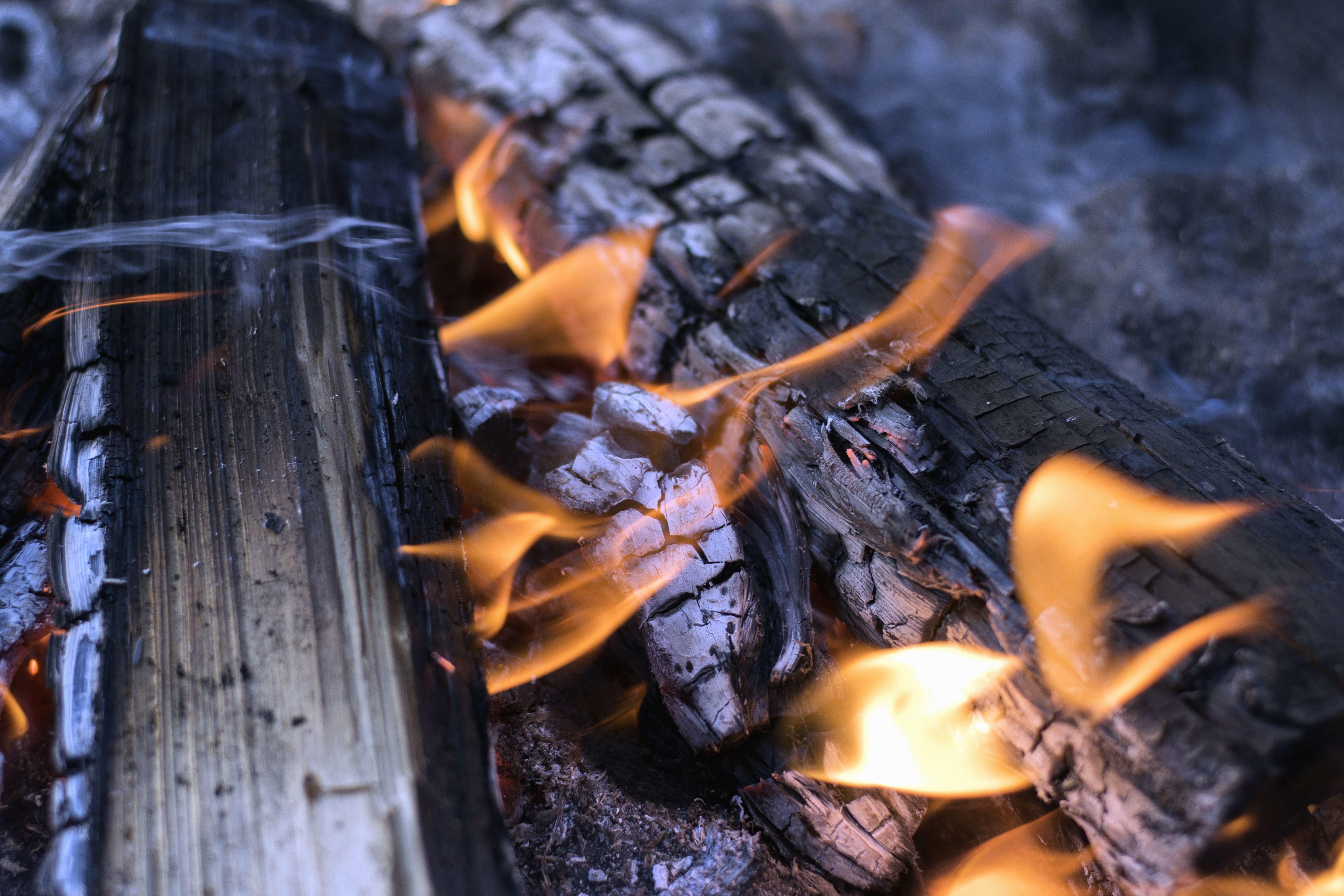 Kostenlose Bild: Temperatur, Heizung, Brennen, Holz, Feuer, heiß