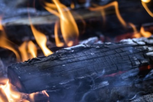 wood, fire, grill, hot, temperature, heating
