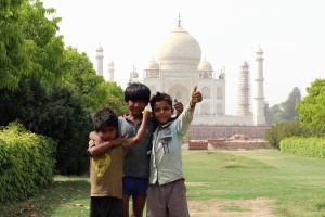children, lawn, plants, mosque, religion, wood, architecture