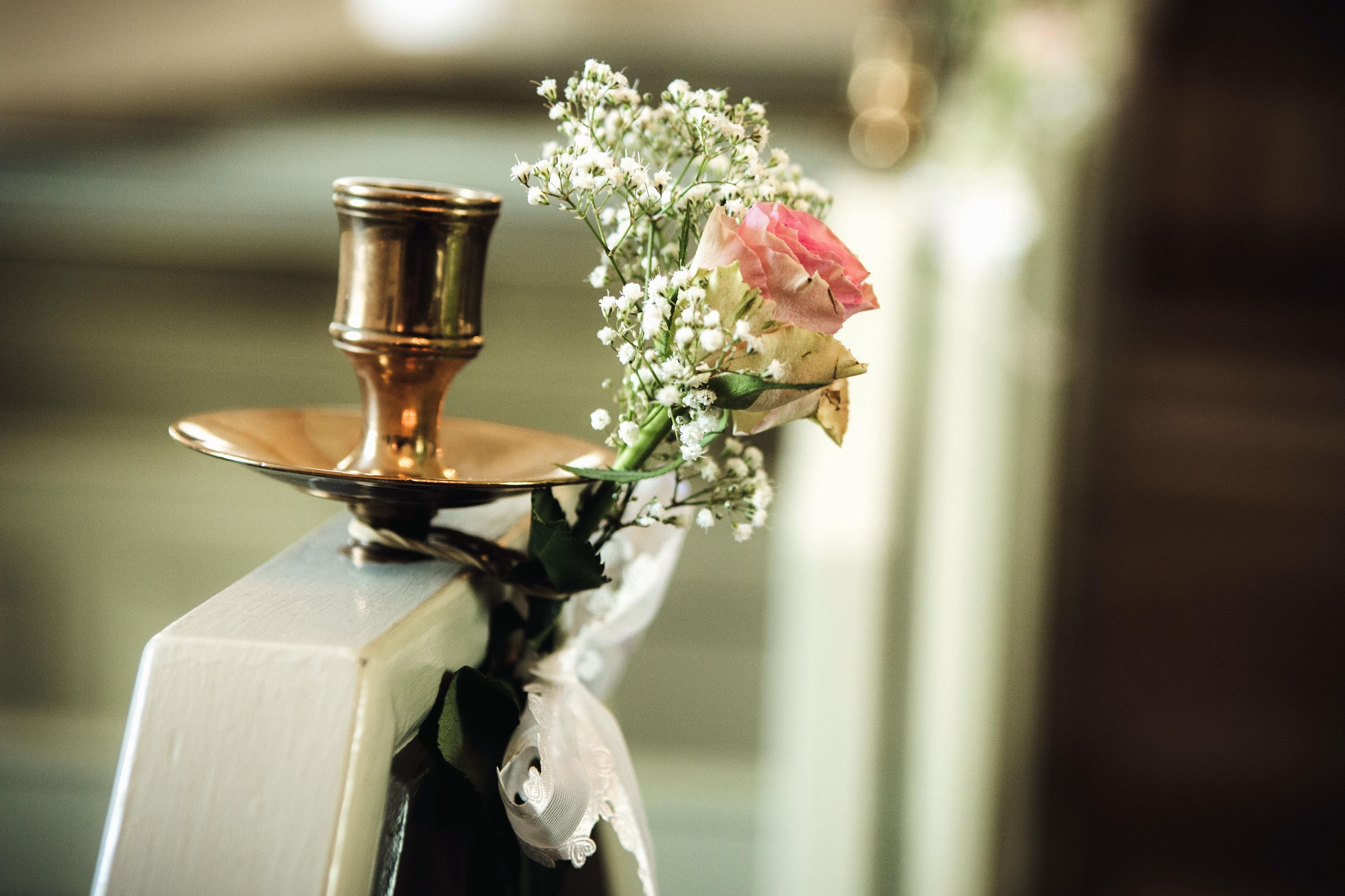interieur design roos koper bloemen