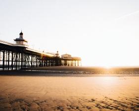 пляж, здание, песок, море, солнце, путешествия, вода