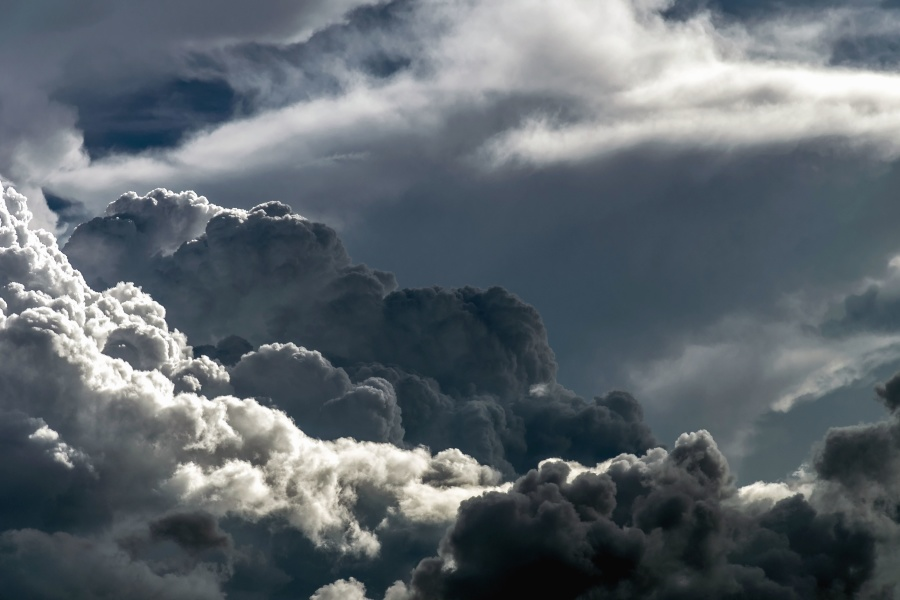 Free picture: sky, heaven, horizon, clouds