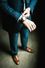 wristwatch, clock, shoes, suit, wristwatch, fashion, footwear, hands, man