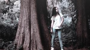 person, trees, beautiful, fashion, girl