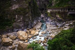 돌, 벽, 절벽, 강, 자연, 산