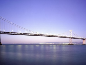 Brücke, hell, gebäude, architektur, bau, meer, bögen