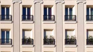 balkong, byggnad, arkitektur, fönster, fasad, byggnader, lyx