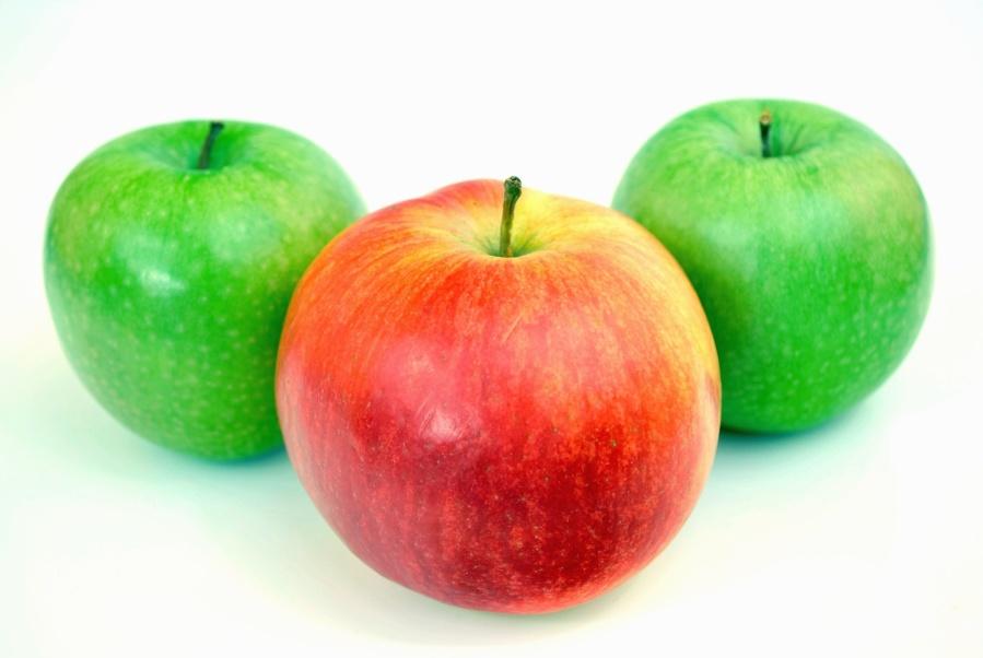 jablko, ovocie, organické, prírodné, potraviny