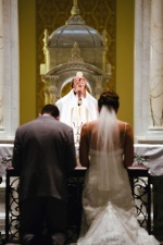 bride, groove, church, man, woman, priest, marriage, religion, christianity