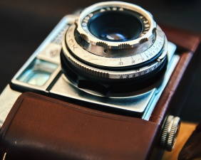 photo camera, lens, retro, setting, zoom