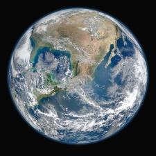 Terre, univers, espace, planète, continent, système solaire