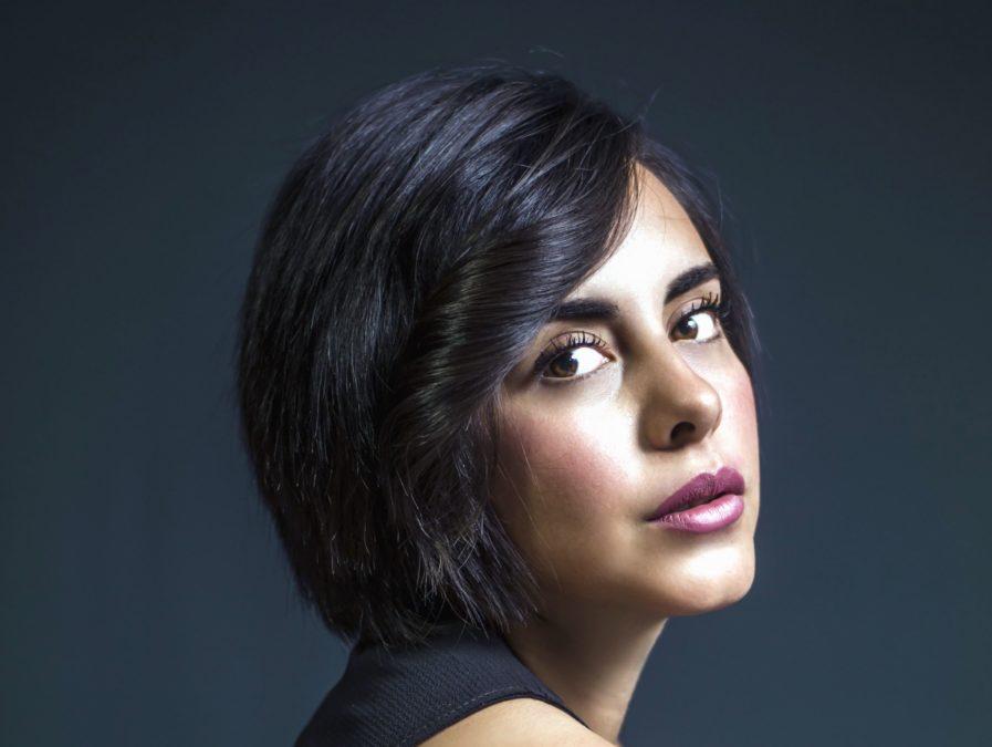 Žena, make-up, fotografie modelu, tvář, portrét