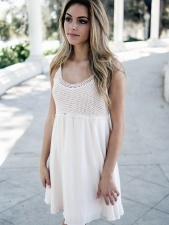 Fille, jeune, modèle photo, mode, robe, cheveux