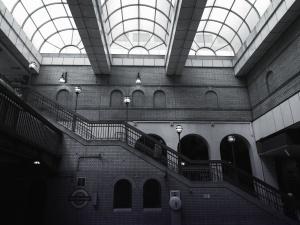 建筑, 楼梯, 甲板, 设计, 玻璃, 窗户