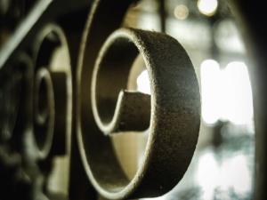 iron, fence, metal, art, industry, iron