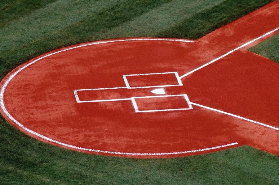 Campo, erba, sport, parco giochi, stadio, baseball