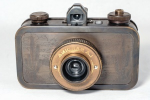 photo camera, retro, flash, antique