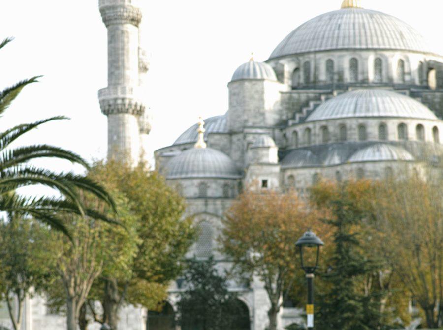 minaret, moskeen, islam, religion, arkitektur, bygg
