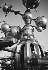 amusement park, fun, robot, metal, technology
