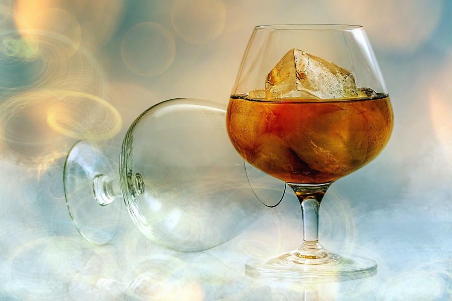 стъкло, сок, лед, освежаване, студ, напитка
