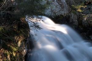 Primavera, paisagem, água, cachoeira, fluxo, rochas, Primavera