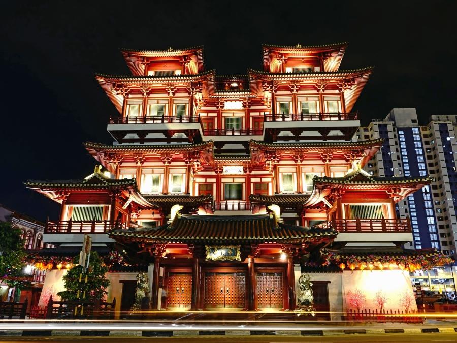 arkitektur, konstruktion, Asien, bygning, gamle, facade