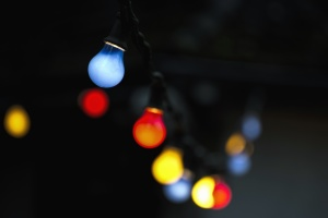 light bulb, colorful, color, electricity, celebration