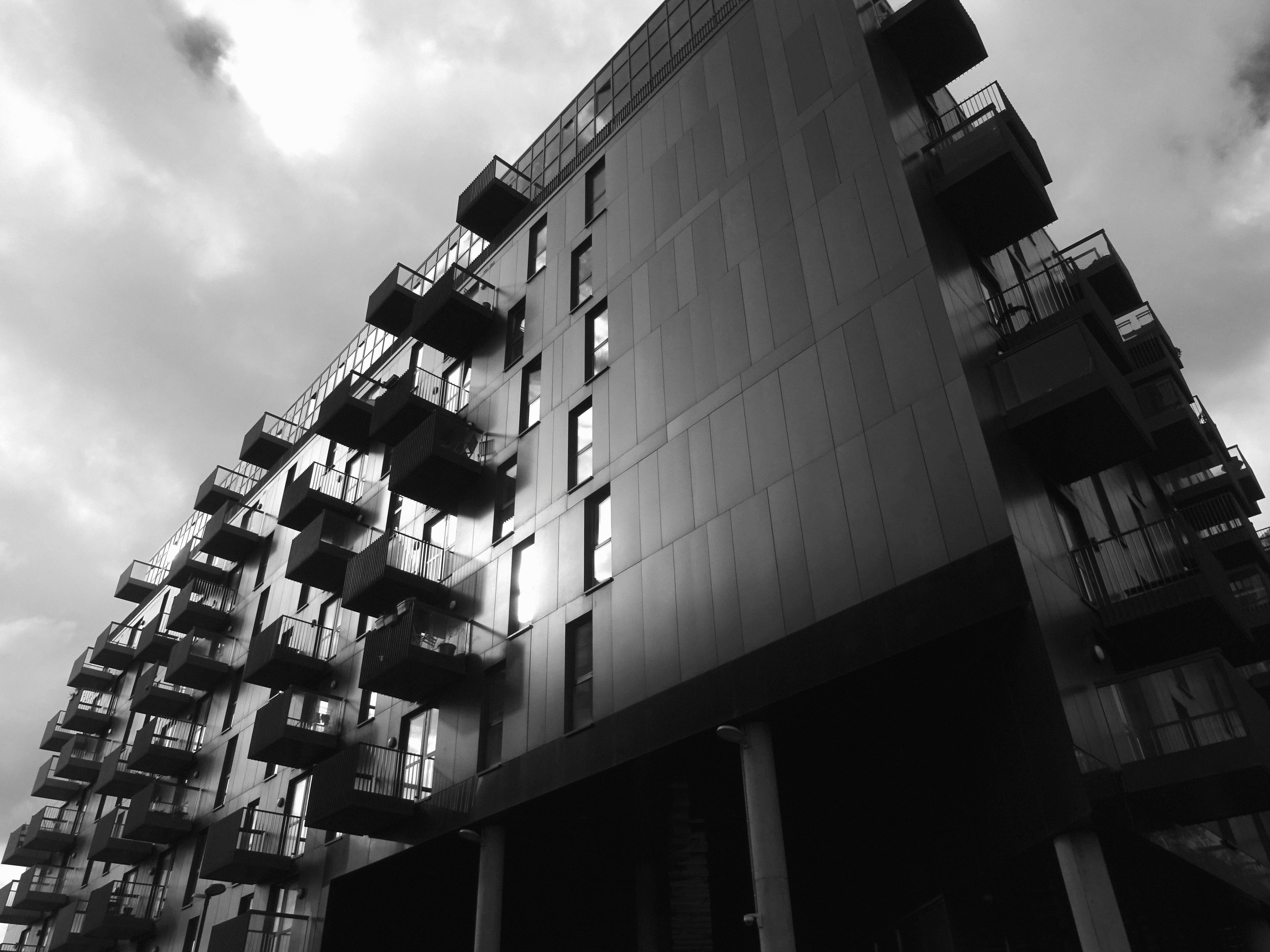 Imagen Gratis Edificio Arquitectura Fachada Terraza
