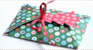 envelope, ribbon, letter, message