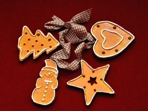 cookie, delicious, food, heart, star