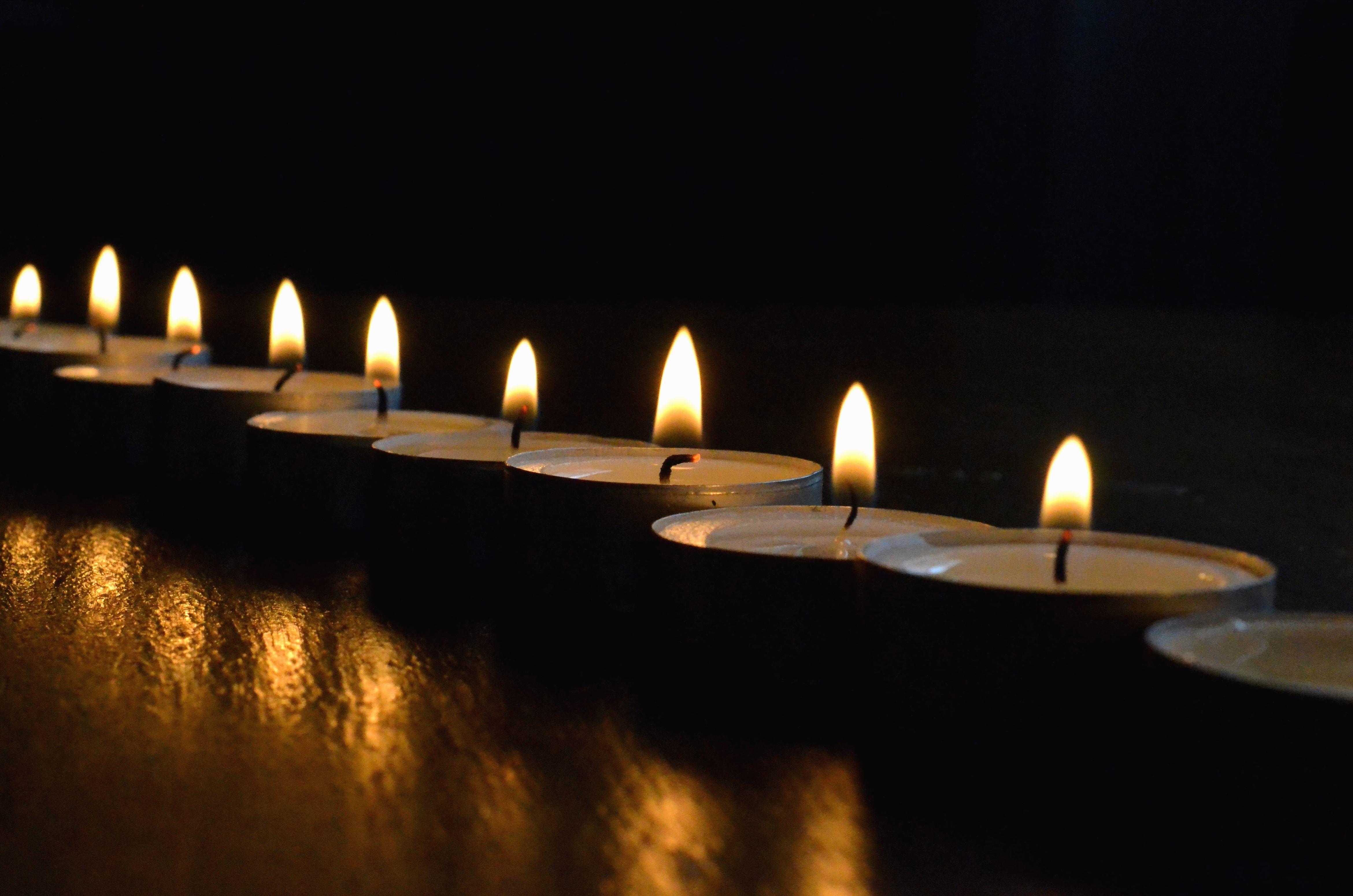 Wachs, Kerze, Flamme, Hitze, Romantik, Atmosphäre