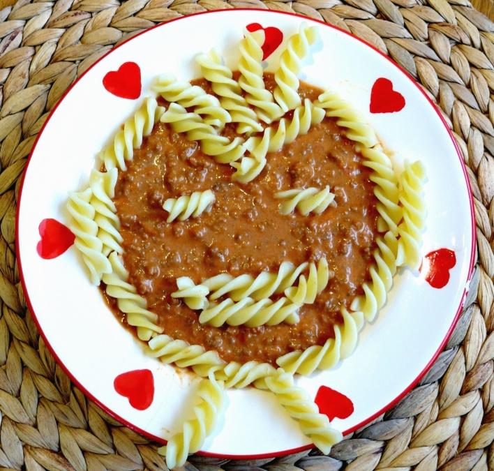 Kostenlose Bild Essen Pasta Gericht Gulasch Dekoration