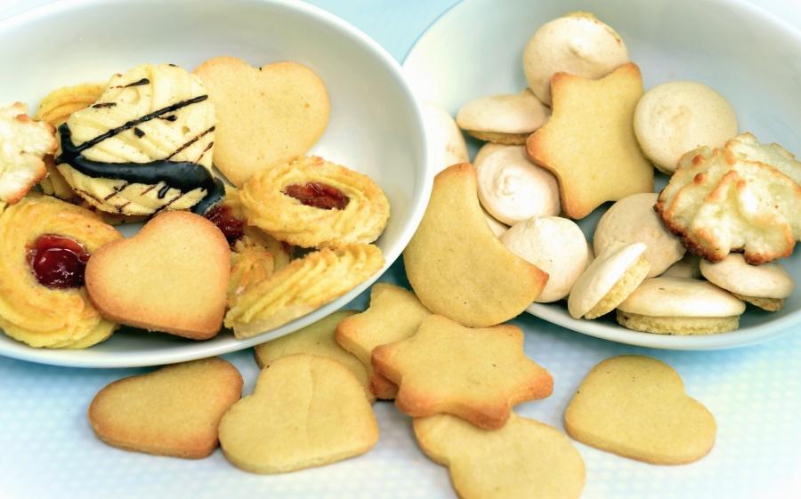 cakes, biscuits, decoraties, zoet