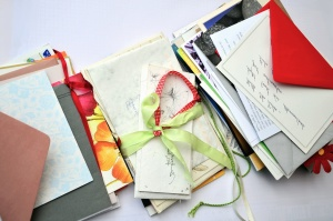 ribbon, letter, paper, envelope, message, love