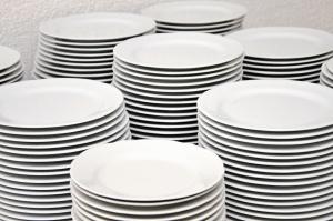 Platte, Keramik, Lebensmittel