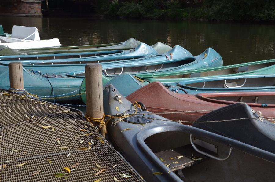 док, вода, лодка, река
