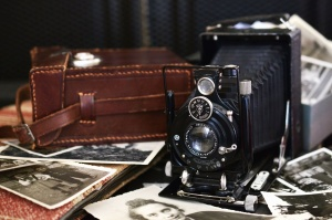 photo camera, antique, photo, lens