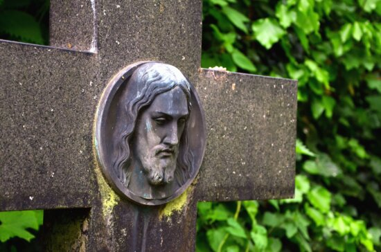 monument, cross, christianity, stone, cross, tree