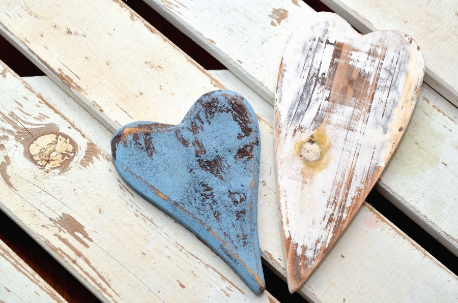 Kostenlose Bild: Kunst, Herz, Baum, Tisch