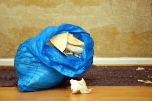 torba, kağıt, duvar, çöp kutusu, duvar kağıdı