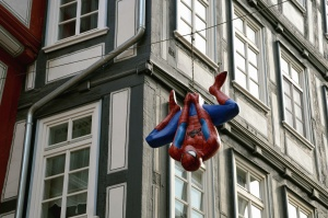 acrobats, building, actor, man spider