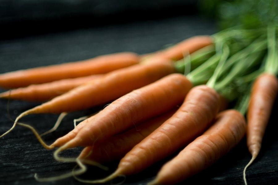 Vegetarier, Karotten, Gemüse, Lebensmittel