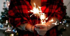 celebration, christmas, spark