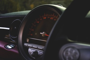 Voiture, véhicule, moderne, intérieur, luxe