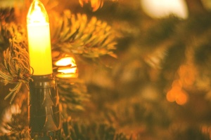christmas, light, decoration