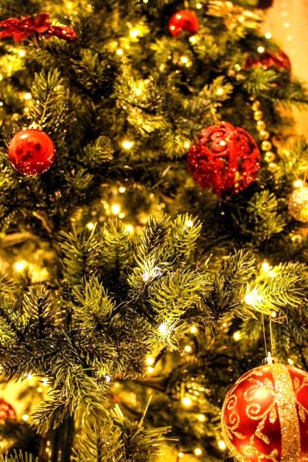 Natale, ornamento, albero, vacanza, decorazione